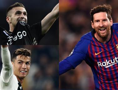 Top Scorer Liga Champions, Lionel Messi Amankan Posisi Puncak