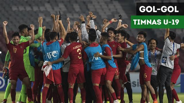 Berita video gol-gol Timnas Indonesia U-19 pada fase grup A di Piala AFC U-19 2018 yang mengantarkan mereka ke babak perempat final.