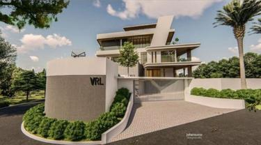 Modern dan Futuristis, Desain Rumah Baru Verrell Bramasta