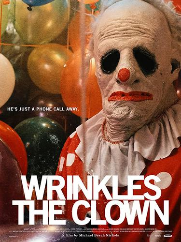 Poster film Wrinkles The Clown. (Foto: Crash Pictures, Topic Studios)