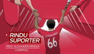 Berita video, cerita kerinduan Trent Alexander-Arnold melihat suporter untuk mendukung Liverpool