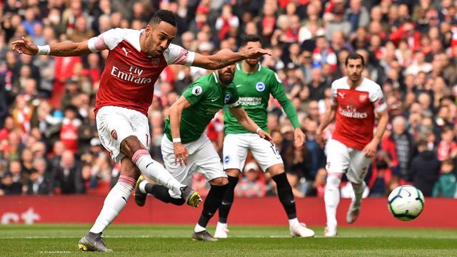 FOTO: Sempat Unggul, Arsenal Tertahan saat Hadapi Brighton