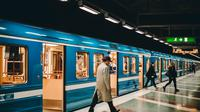 Ilustrasi kereta api (pexels)