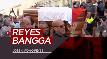 Berita video Jose Antonio Reyes ternyata dikenang sebagai pesepak bola yang selalu bangga dengan kampung halamannya, Utrera, Sevilla, Spanyol.
