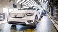 Volvo Mulai produksi SUV Listrik Canggih (Paultan0