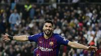 9. Luis Suárez – 125 gol:Penyerang yang didatangkan dari Liverpool demi gantikan peran David Villa di Barcelona. Total hingga Februari 2019, Suarez mencetak 125 gol bersama Barcelona. (BCWGlobal)