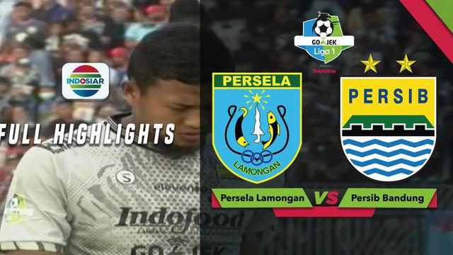 Persela Lamongan berbagi angka dengan Persib Bandung usai kedua tim bermain imbang 1-1 dalam lanjutan Gojek Liga 1 2018 bersama Bukalapak, Minggu (1/12/2018)