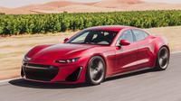 Drako GTE bergenre mobil listrik, tenaganya membludak dengan harga jual belasan miliar rupiah. (Carscoops)