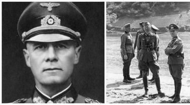 Jenderal Erwin Johannes Eugen Rommel dipaksa bunuh diri oleh Hitler
