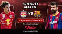 Link Live Streaming Pertandingan Pramusim RB Salzburg vs Barcelona di Vidio, Kamis 5 Agustus 2021. (Sumber : dok. vido.com)