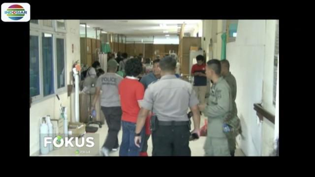 Tiga anggota brimob yang sedang mengamankan Bandara Mugi, Nduga, Papua ditembak kelompok kriminal bersenjata.