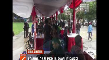 Sambut Hari Disabilitas Internasional, beberapa peruasahaan di Jember, Jawa Timur, buka lowongan untuk pekerja berkebutuhan khusus.