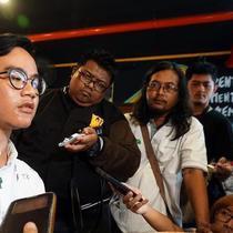 Putra sulung Jokowi, Gibran Rakabuming memiliki motor baru hasil modifikasi Katros Garage.