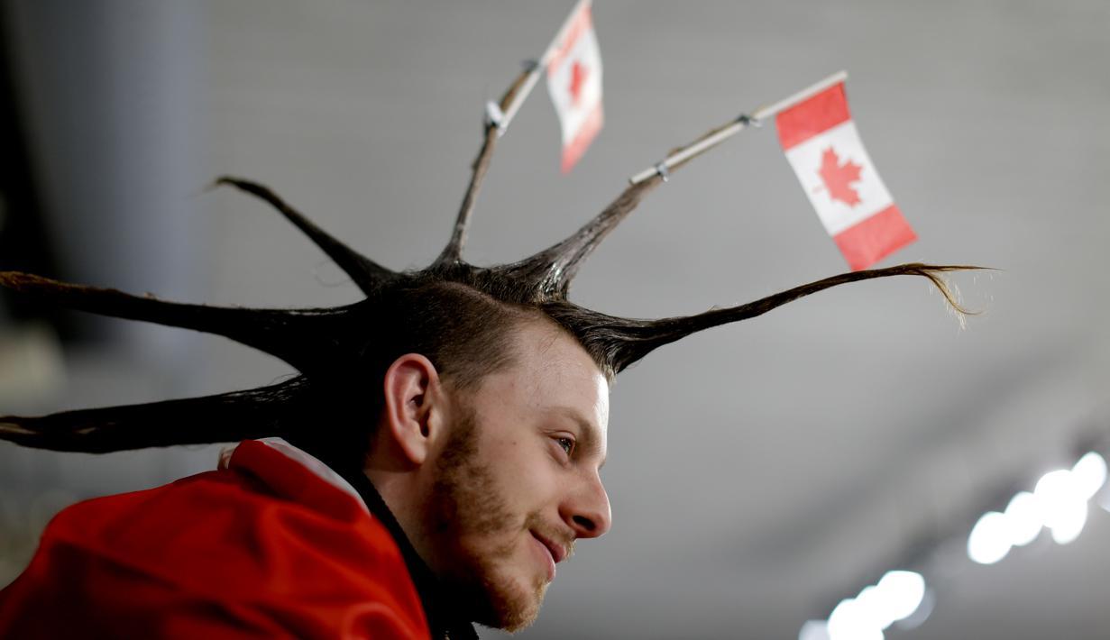 FOTO: Atribut Unik Para Penonton Olimpiade PyeongChang ...