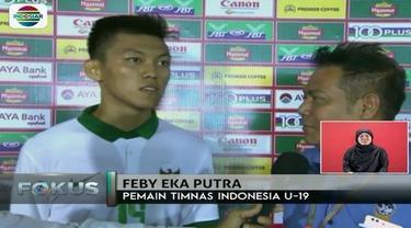 Muncul bintang baru usai timnas babat habis Filipina dengan skor 9-0. Ini dia, Feby Eka Putra.