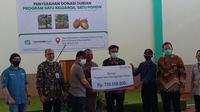 BRI mendukung pemberdayaan ekonomi masyarakat desa dalam program  Satu Keluarga, Satu Pohon di Desa Tamansari, Cikadang, dan Rancamaya, Kabupaten Banyumas.