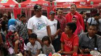 Teh Pucuk Harum Food Street Wisata Kuliner dan Hutan Kota Patriot Candrabhaga baru dibuka Minggu, 20 Januari 2019. (dok. Teh Pucuk Harum/Dinny Mutiah)