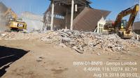 Untuk warga terdampak gempa Lombok yang terluka, jumlah korban mencapai 7.773 orang. (FOTO: BNPB)