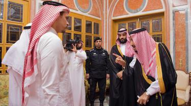 Raja dan Putra Mahkota Saudi Temui Keluarga Khashoggi