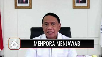 VIDEO: Menpora Zainudin Amali Klarifikasi Pernyataan Fajar-Rian Tunggal Baru Bulu Tangkis