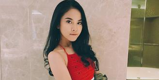 Di sinetron Siapa Takut Jatuh Cinta, Gabriella Larasati memerankan karakter antagonis bernama Sonya. Karena aktingnya, ia kerap menerima hujatan dari warganet. (Foto: instagram.com/gabriellalarasati)