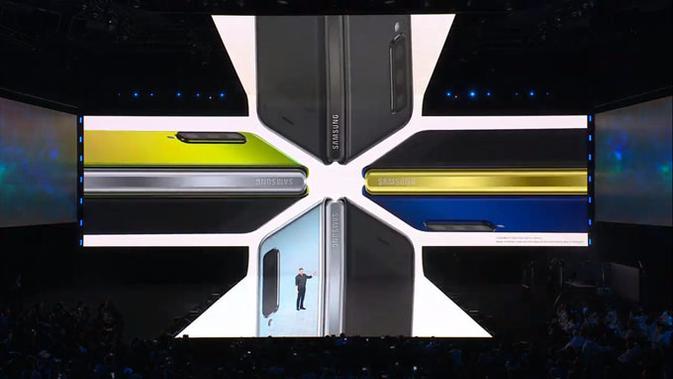 Galaxy Fold. (Doc: Samsung)