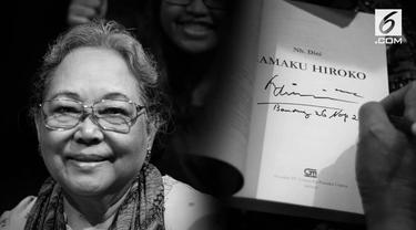 Sastrawan Nh Dini meninggal pada usia 82 tahun