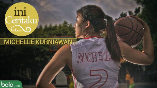 """Berita video """"Ini Ceritaku"""" yang menampilkan atlet basket putri muda Indonesia, Michelle Kurniawan"""