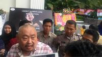 Pendukung Anies-Sandiaga, Lieus Sungkharisma. (Liputan6.com/Delvira Hutabarat)