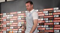 Striker Manchester United asal Inggris, Wayne Rooney. (AFP/Paul Ellis)