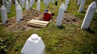 Tugu Peringatan Potocari Srebrenica. (Reuters)