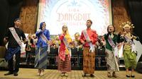 Liga Dangdut Indonesia (LIDA) akan mulai tayang pada 15 Januari mendatang. Bertepatan dengan ulang tahun Indosiar yang digelar pada Kamis (11/1), LIDA resmi dibuka. (Adrian Putra/Bintang.com)
