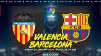 La Liga - Valencia Vs Barcelona (Bola.com/Adreanus Titus)