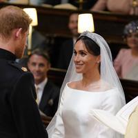 Sebelumnya, Meghan Markle adalah wanita kulit hitam pertama yang menjadi bagian dari keluarga kerajaan Inggris. (DOMINIC LIPINSKI  POOL  AFP)