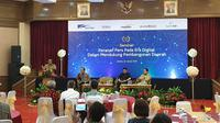 menggelar seminar bertemakan Peranan Pers Pada Era Digital Dalam Mendukung Pembangunan Daerah. (Liputan6.com/Nanda Perdana Putra)