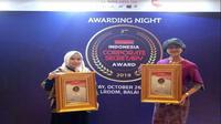 PT Elang Mahkota Teknologi Tbk dan PT Surya Citra Media Tbk raih penghargaan Indonesia Corporate Secretary Award 2018 (Foto:Liputan6.com/Maulandy R)