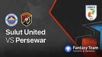 Liga 2 2021 : Persewar Waropen vs Sulut United