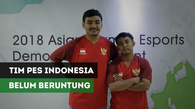 Indonesia takluk di laga perdana best of three 0-2 dari Jepang dalam laga perdana Grup B cabang olahraga eSports yang digelar di Britama Arena, Sabtu (1/9/2018).