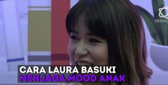 Seperti ini keseruan Laura Basuki yang urus anak tanpa bantuan babysitter.