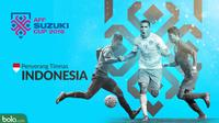 Piala AFF 2018 Penyerang Timnas Indonesia (Bola.com/Adreanus Titus)