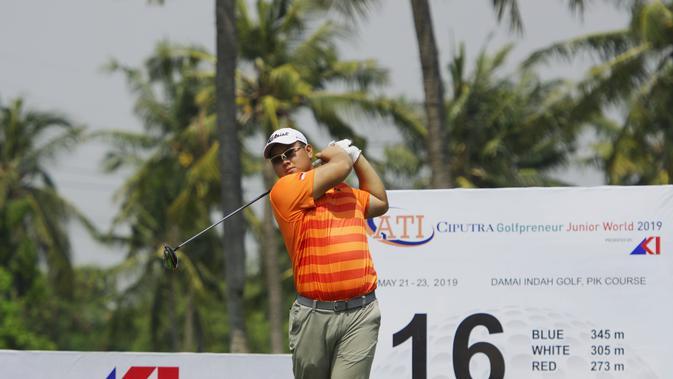 Pegolf Iindonesia Ambil Alih Puncak Klasemen Putra Di Ciputra Golfpreneur Junior World