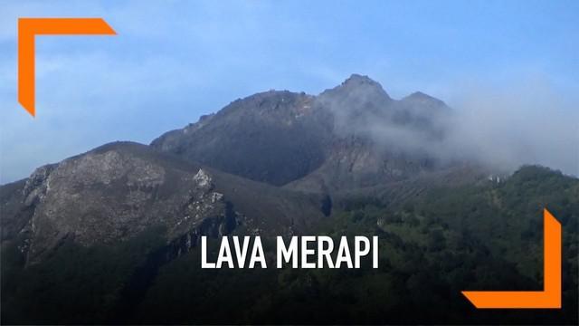 Gunung Merapi kembali meluncurkan lava pijar di hari pertama puasa 1440H.