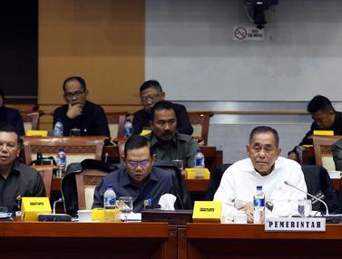 Bahas RUU PSDN, Menhan Ryamizard Raker dengan Komisi I DPR