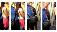 Seorang pria kedapatan melakukan perbuatan tidak senonoh terhadap seorang wanita ketika mereka sedang berada di dalam kendaraan umum.