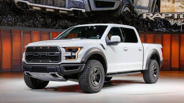 5. Ford F-150 Raptor SuperCrew 2017