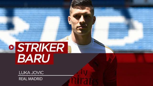 Berita video Real Madrid memperkenalkan striker barunya, Luka Jovic, di Santiago Bernabeu, Rabu (12/6/2019).