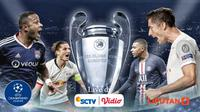 Banner Semifinal Liga Champions (Liputan6.com/Abdillah)
