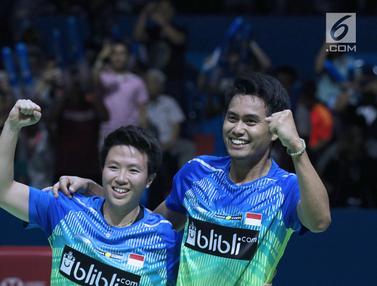 Tontowi Ahmad / Liliyana Natsir Sabet Gelar Juara Indonesia Open 2018