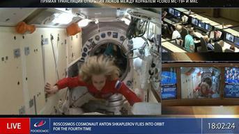 Syuting di Luar Angkasa Rampung, Aktris dan Sutradara Rusia Kembali ke Bumi
