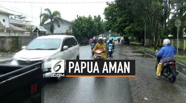 Usai kerusuhan situasi di Kota Timika, Papua telah kondusif.